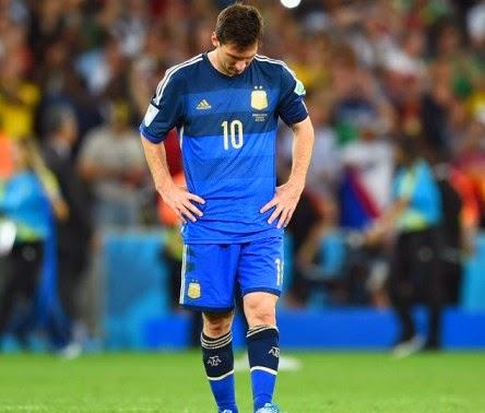 Kekalahan Di Final Piala Dunia 2014 Sulit Dilupakan Oleh Messi