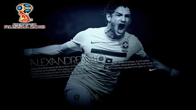 Alexandre Pato Masih Ingin Tampil Pada Piala Dunia 2018