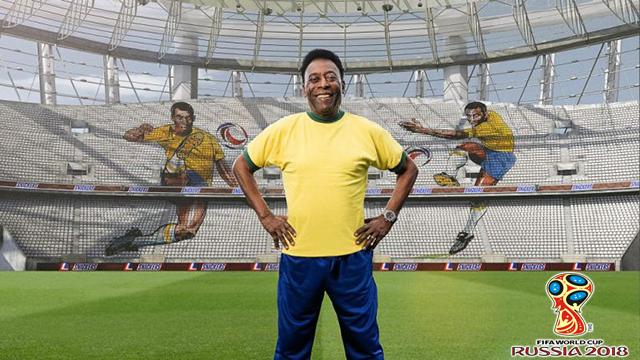 Pele Yakin Brasil Bisa Juara Piala Dunia 2018