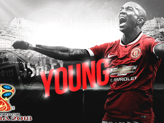 Ashley Young Ingin Main Di Piala Dunia 2018